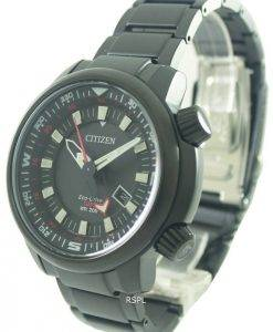Citizen Eco-Drive Power Reserve GMT 200M BJ7085-50E Mens Watch
