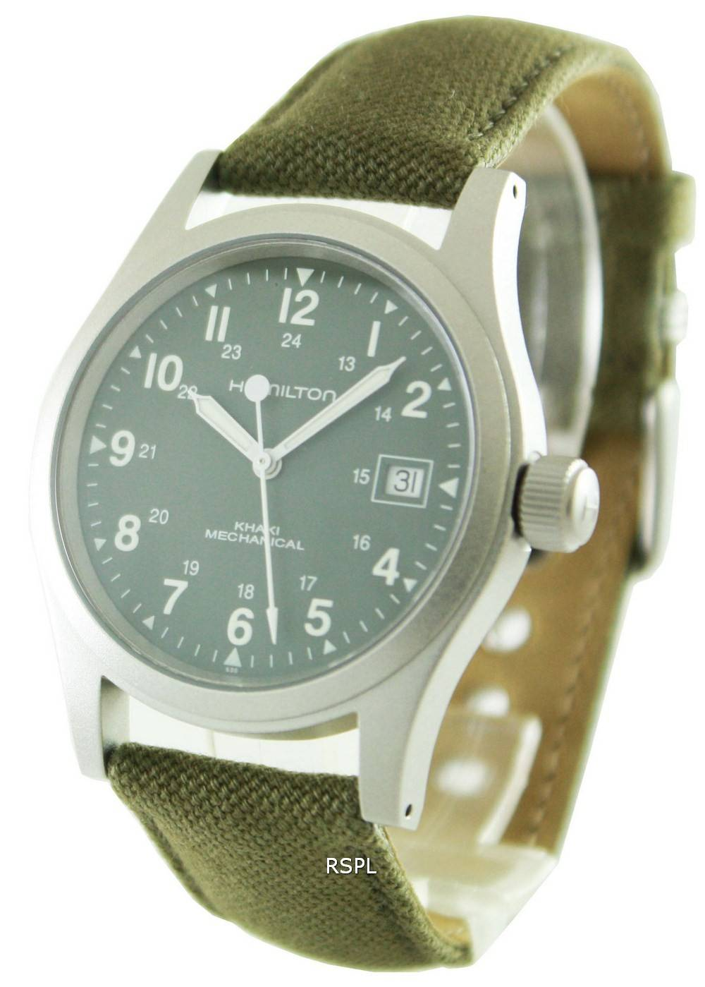 Good Watch Brands For Men >> Hamilton Khaki Field Mechanical H69419363 Mens Watch Singapore