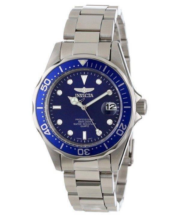 Invicta Pro Diver 200M Quartz Blue Dial INV9204/9204 Mens Watch