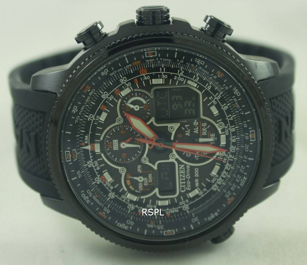 8c26a1f7592 Citizen Navihawk Eco-Drive Atomic JY8035-04E Mens Watch Singapore