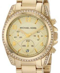 Michael Kors Golden Runway Glitz Chronograph MK5166 Womens Watch