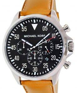Michael Kors Black Chronograph Mens Watch