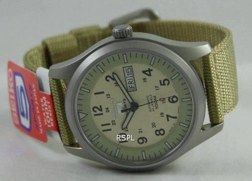 Seiko 5 Military Automatic Sports SNZG07J1 SNZG07J SNZG07 Mens Watch