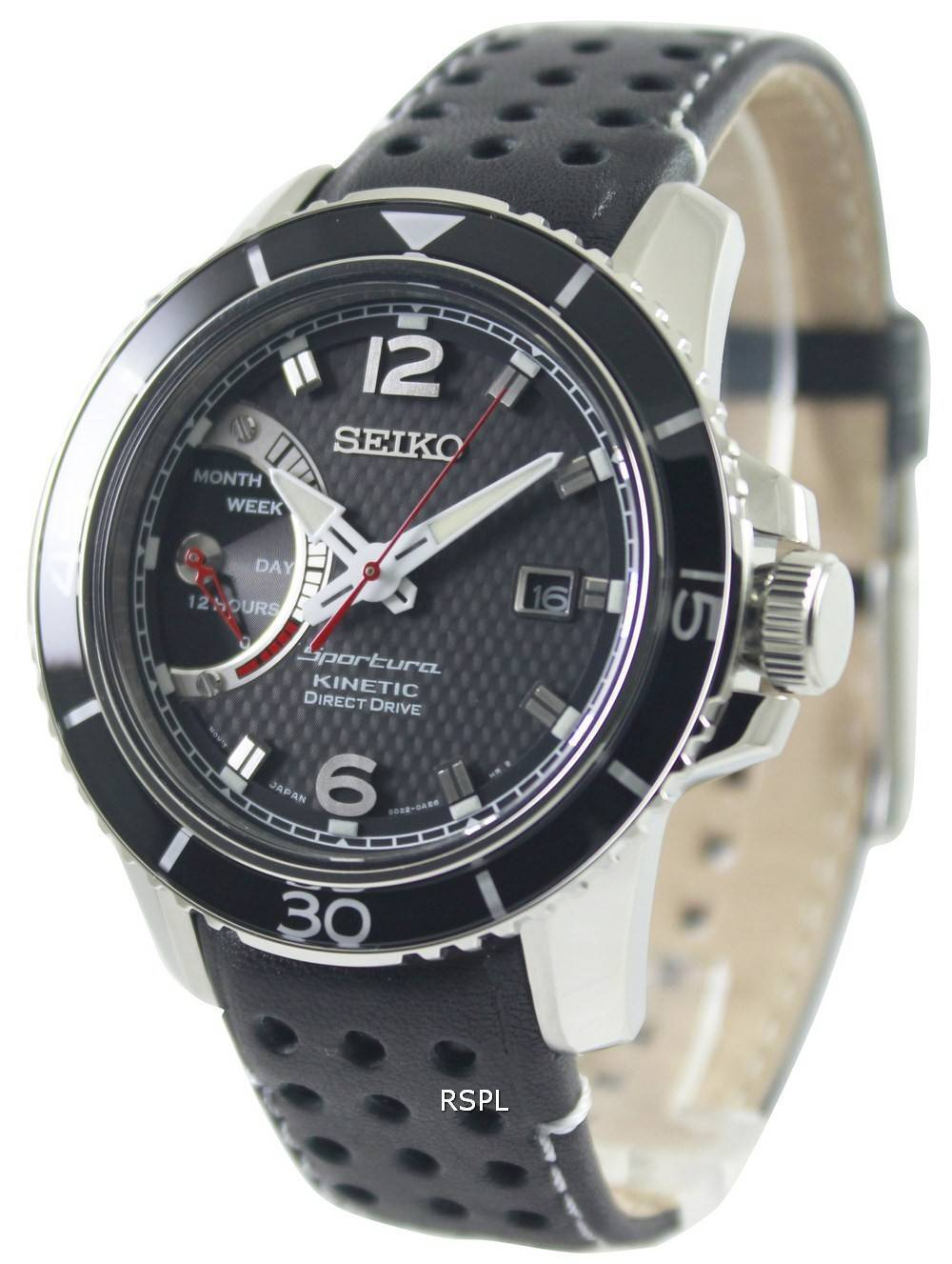 Seiko sportura kinetic direct drive srg019p2 mens watch singapore for Watches direct