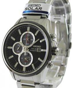 Seiko Solar Chronograph SSC255P1 SSC255P Mens Watch