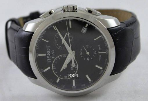 Tissot Couturier Quartz GMT T035.439.16.051.00 Mens Watch