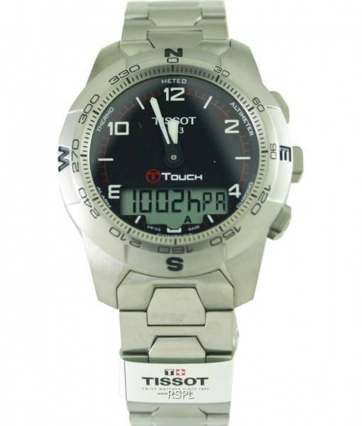 Tissot Quartz T-Touch T047.420.44.057.00 Mens Watch