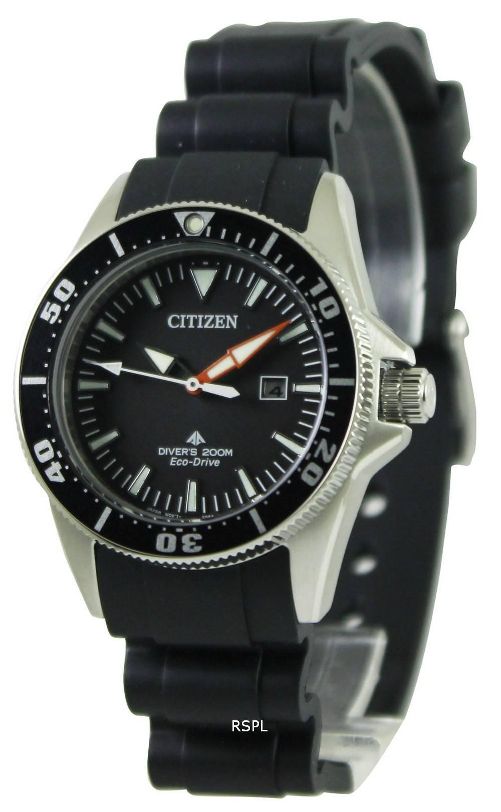 Citizen eco drive promaster divers ep6040 02e womens watch for Citizen eco dive