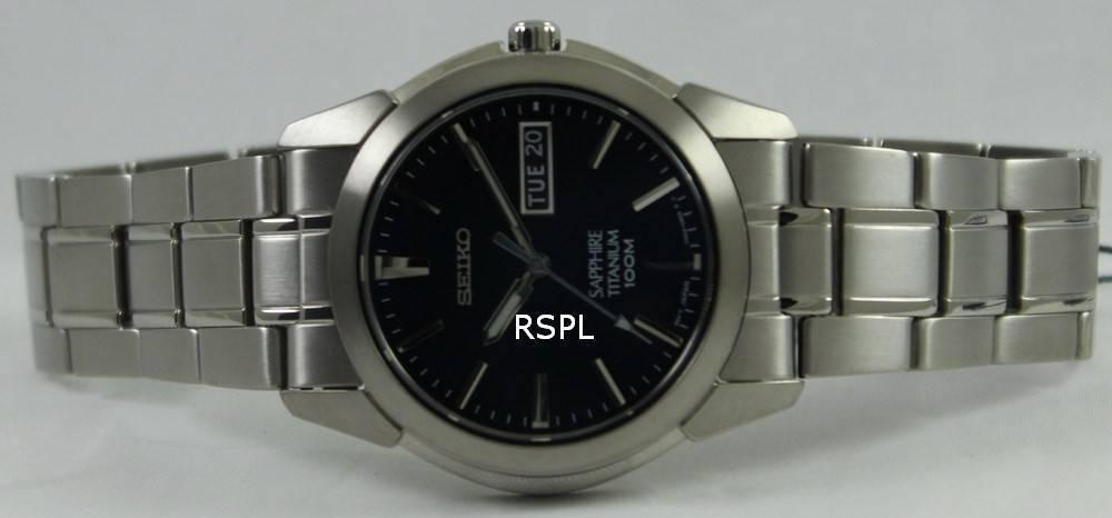 newest e436d ee372 Seiko Titanium Sapphire SGG729P1 SGG729P Mens Watch 5