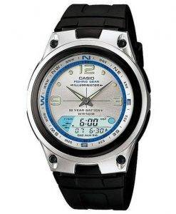 Casio Analog Digital Out Gear Fishing Illuminator AW-82-7AVDF AW-82-7AV Mens Watch