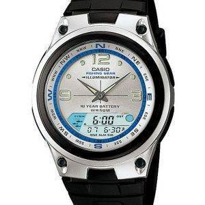 Casio Analog Digital Out Gear Fishing Illuminator AW-82-7AVDF AW-82-7AV Mens Watch