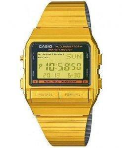 Casio Digital 5 Alarm Multi-Lingual Data Bank DB-380G-1DF DB-380G-1 Mens Watch