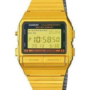 Casio Digital 5 Alarm Multi-Lingual Data Bank DB-380G-1DF DB-380G-1 Mens Watch