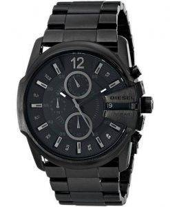 Diesel Master Chief Chronograph Black Dial DZ4180 Mens Watch