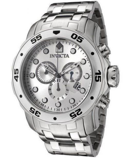 Invicta Pro-Diver Quartz Chronograph Silver Dial INV0071/0071 Mens Watch