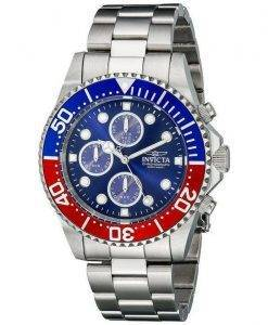 Invicta Pro Diver Chronograph 200M Blue Dial INV1771/1771 Mens Watch
