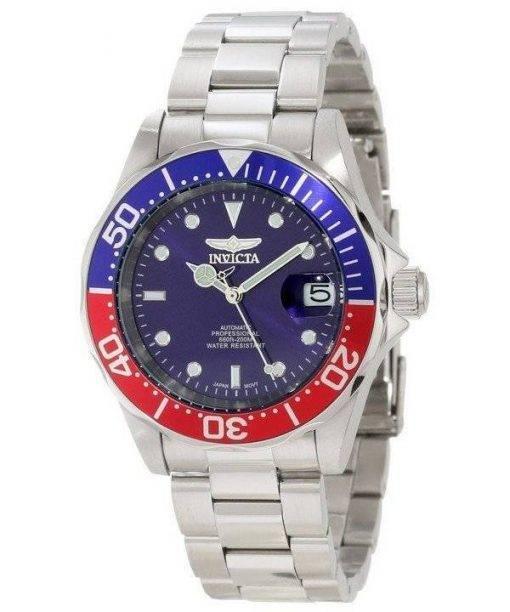Invicta Pro Driver Automatic 300M Blue Dial INV5053/5053 Mens Watch