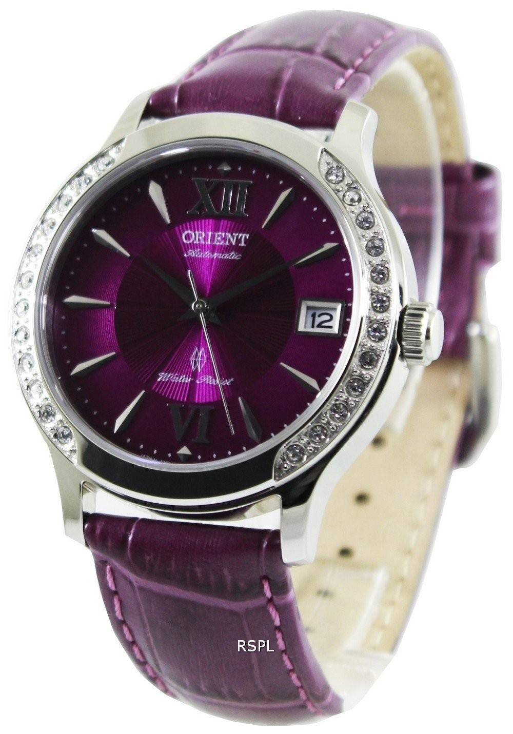 orient fashionable automatic crystals er2e005v womens