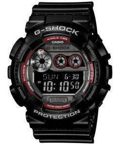 Casio G-Shock World Time Flash Alert 200M GD-120TS-1 Mens Watch