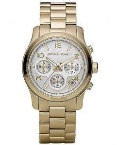Michael Kors Classic Gold-Tone Chronograph MK5305 Womens Watch