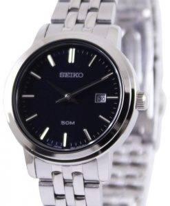 Seiko Quartz Navy Blue Dial SUR829P1 SUR829P Womens Watch