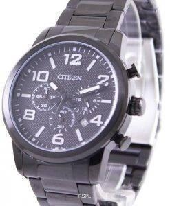 Citizen Black IP Quartz Chronograph AN8055-57E Mens Watch