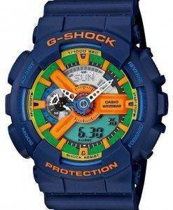 Casio G-Shock Blue Analog Digital GA-110FC-2A Mens Watch