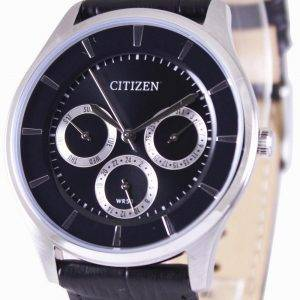 Citizen Multifunction Quartz Black Dial AG8351-01E Mens Watch