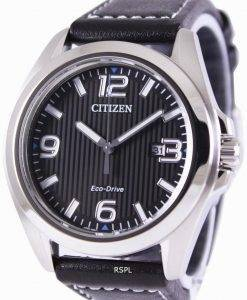 Citizen Eco-Drive Black Dial AW1430-19E Mens Watch