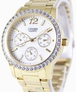 Citizen Quartz Swarovski Crystals ED8092-58D Womens Watch