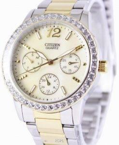 Citizen Quartz Swarovski Crystals ED8094-52N Womens Watch