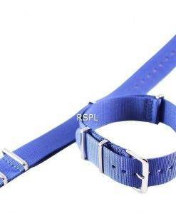 Navy Blue Nato Strap 20mm For SKX007, SKX009, SKX011, SRP497, SRP641