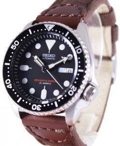 Seiko Automatic Diver's Canvas Strap SKX007J1-NS1 200M Mens Watch