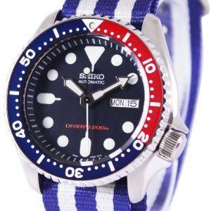 Seiko Automatic Divers 200M NATO Strap SKX009K1-NATO2 Mens Watch