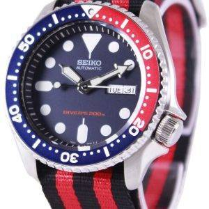 Seiko Automatic Divers 200M NATO Strap SKX009K1-NATO3 Mens Watch