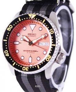 Seiko Automatic Divers 200M NATO Strap SKX011J1-NATO1 Mens Watch