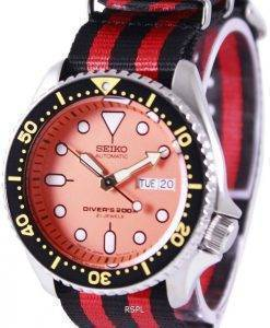Seiko Automatic Divers 200M NATO Strap SKX011J1-NATO3 Mens Watch
