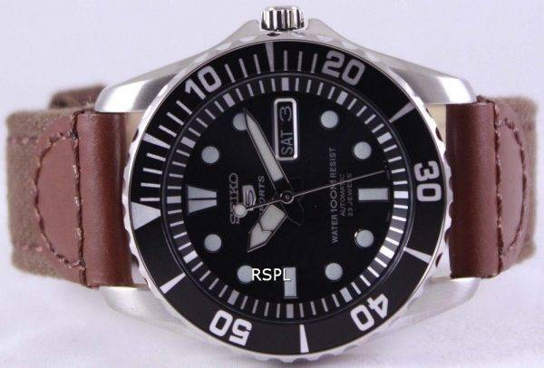 Seiko 5 Sports Automatic Canvas Strap SNZF17K1-NS1 Mens Watch