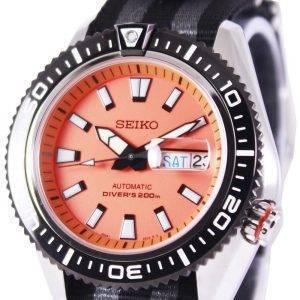 Seiko Superior Automatic Divers 200M NATO Strap SRP497K1-NATO1 Mens Watch