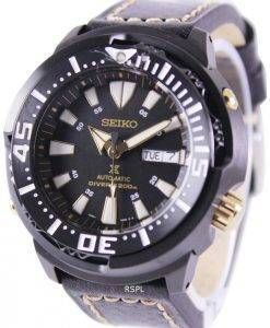 Seiko Prospex Baby Tuna Automatic Divers 200M Leather Strap SRP641K1-LS2 Mens Watch