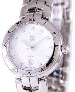 Tag Heuer Link Bracelet Diamond Dial WAT1411.BA0954 Womens Watch