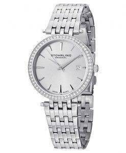 Stuhrling Original Garland Swarovski Crystal 579.01 Womens Watch