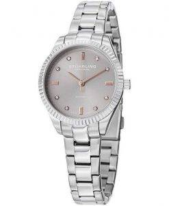 Stuhrling Original Allure Diamond Quartz 607L.03 Womens Watch