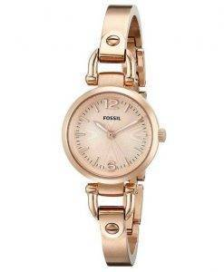 Fossil Georgia Mini Rose-Tone ES3268 Womens Watch