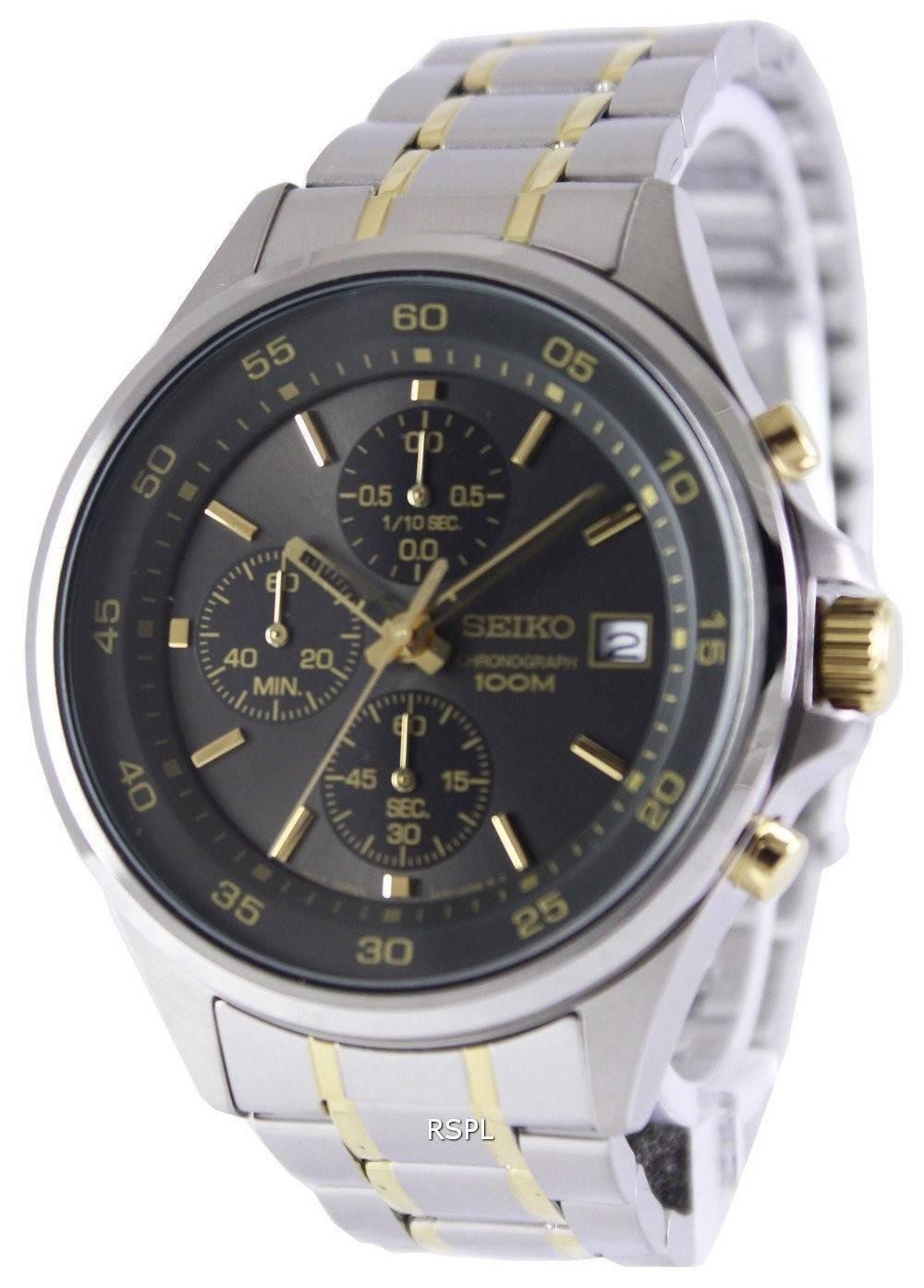 seiko chronograph quartz 100m sks481p1 sks481p mens