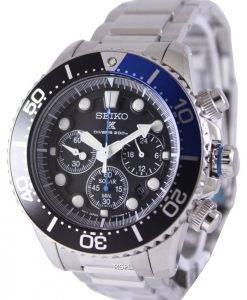 Seiko Solar Chronograph Divers SSC017P1 Mens Watch