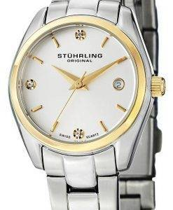 Stuhrling Original Ascot Prime Swiss Quartz Date Display 414L.03 Womens Watch