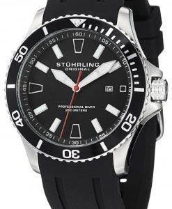 Stuhrling Original Aqua Diver Regatta Quartz 706.01 Mens Watch