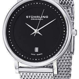 Stuhrling Original Classic Ascot Casatorra Elite Swiss Quartz 734GM.02 Mens Watch