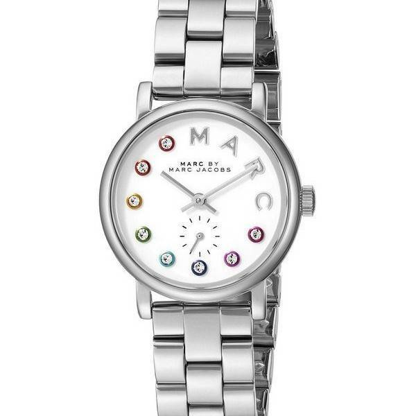 marc by marc baker quartz silver mbm3420